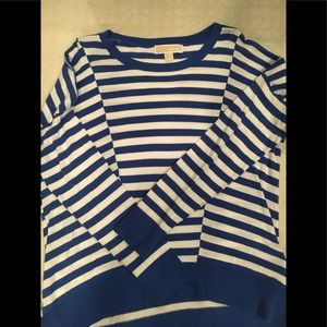 Micheal Kors Stripped Sweater Top